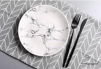 Мраморная тарелка. RD-9582