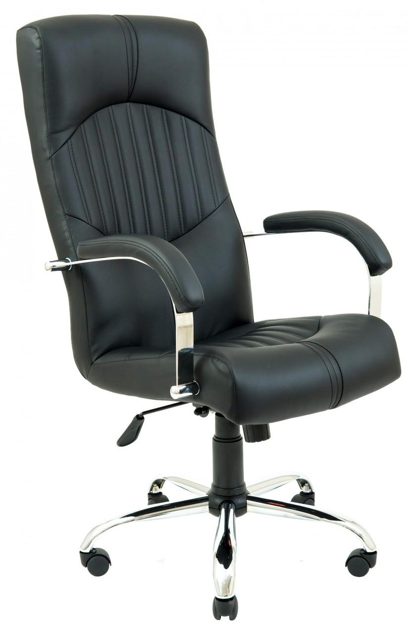 Офисное Кресло Руководителя Гермес Fly 2230 Хром М3 MultiBlock Черное