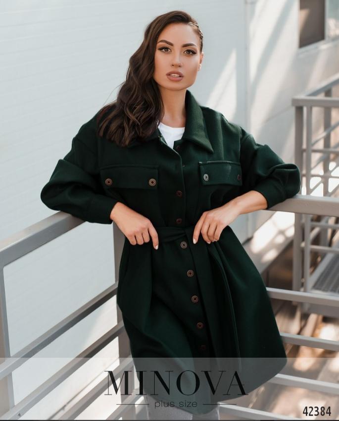 Стильное пальто без подкладкиа большие размеры Украина Размеры: 48-50, 52-54, 56-58