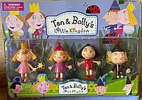 Игровой набор Бен и Холли, 4 фигурки, аналог