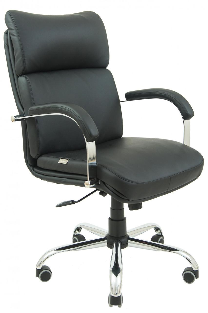 Офисное Кресло Руководителя Richman Дакота Флай 2230 Хром М1 Tilt Черное
