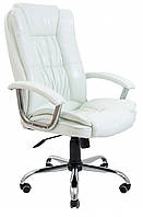 Офисное Кресло Руководителя Richman Калифорния Лаки White Хром М1 Tilt Белое
