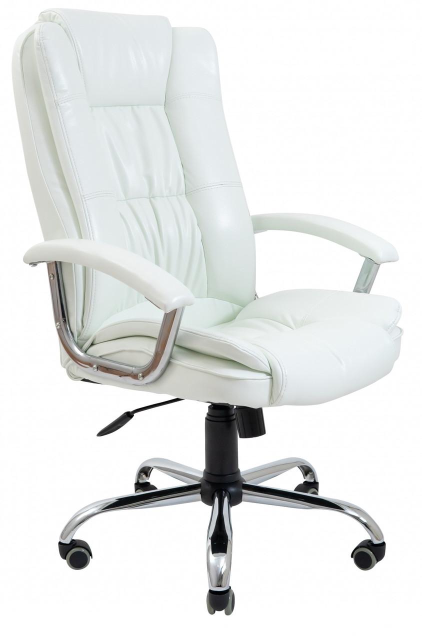 Офисное Кресло Руководителя California Лаки White Хром М3 MultiBlock Белое