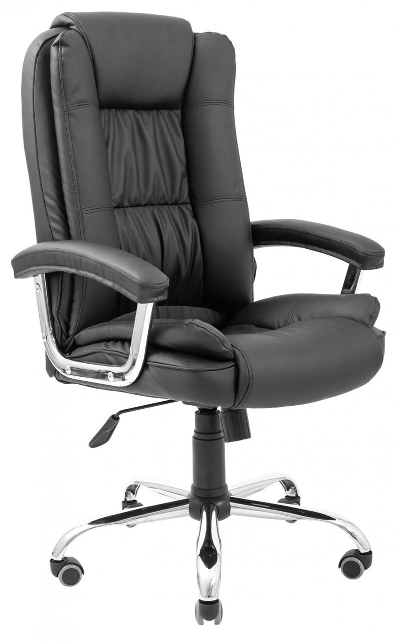 Офисное Кресло Руководителя California Fly 2230 Хром М3 MultiBlock Черное