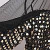 Яскрава жіноча блузка з паєтками 42-46 (в кольорах), фото 7