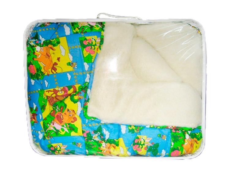 Одеяло меховое детское 140х110см, Волшебный сон (цвета в ассортименте), 1460