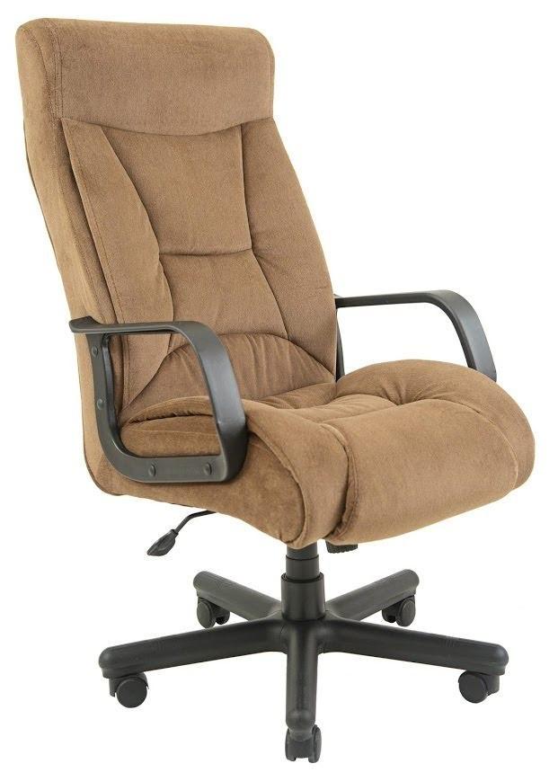 Офисное Кресло Руководителя Magistr Мисти Mocco ПлаStick М2 AnyFix Серое