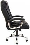 Офисное Кресло Руководителя Richman Майами Флай 2230 Хром М1 Tilt Черное, фото 4