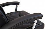 Офисное Кресло Руководителя Richman Майами Флай 2230 Хром М1 Tilt Черное, фото 5