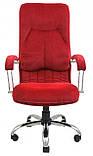 Офисное Кресло Руководителя Richman Никосия Cervo 42 Хром М2 AnyFix Красное, фото 4