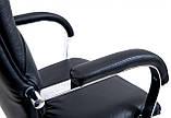 Офисное Кресло Руководителя Richman Никосия Флай 2230 Хром М2 AnyFix Черное, фото 4