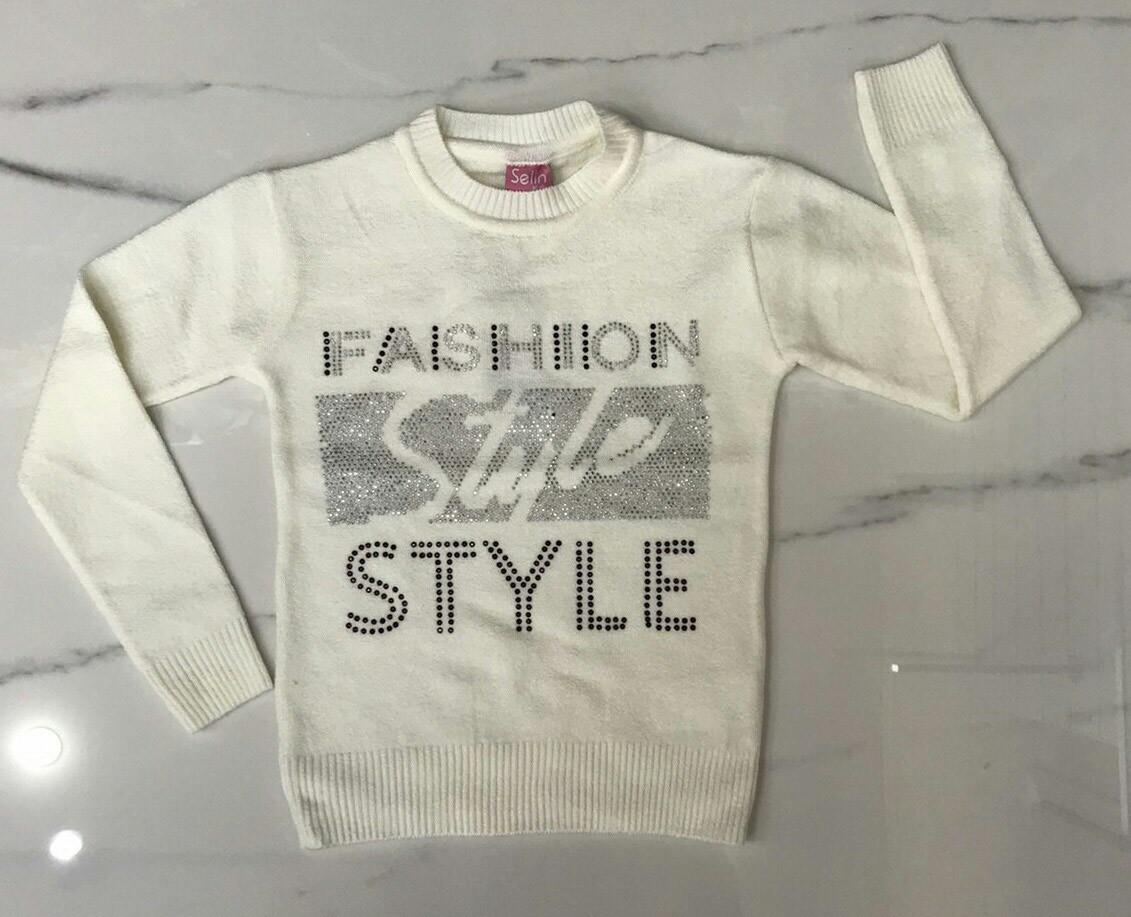Дитячий светр 4-11 років для дівчаток оптом Туреччина
