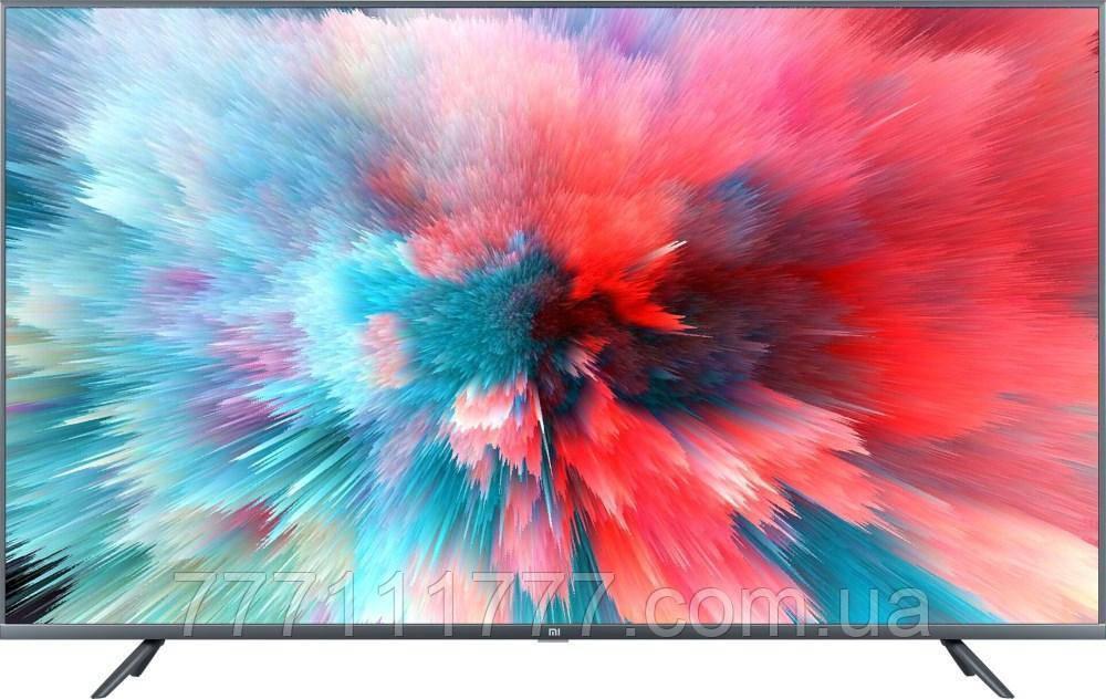 """Телевизор 43 дюйма, черный, тонкий со смарт тв Xiaomi Mi TV UHD 4S 43"""" International"""