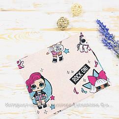 Дитяча пелюшка бавовняна Lukoshkino ® Розмір 80*100 див. ХП-68