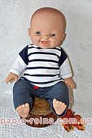 Лялька пупс Горді в наряді морячка, 34 см, фото 1