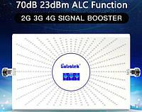 Lintratek AA23C-GDW 2020 новинка 900+1800+2100MHz Усилитель мобильной связи репитер 2G 3G 4G  70dB (23dBm)