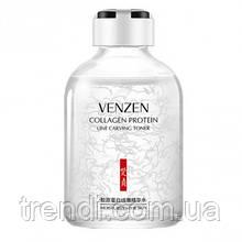 Антивіковий тонер для обличчя з колагеном Venzen collagen