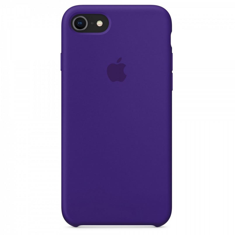 Силиконовый чехол для Apple iPhone 7 / 8 (violet)