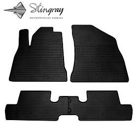 Гумові килимки Пежо 3008 Peugeot 3008 2009-2016 Stingray