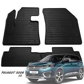 Гумові килимки Пежо 5008 Peugeot 5008 2017 - Stingray