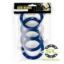 Центровочное кольцо 72.6 - 71.1 Термопластик, фото 2