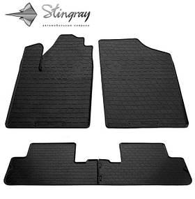 Гумові килимки Пежо Партнер Peugeot Partner 1999-2008 Stingray
