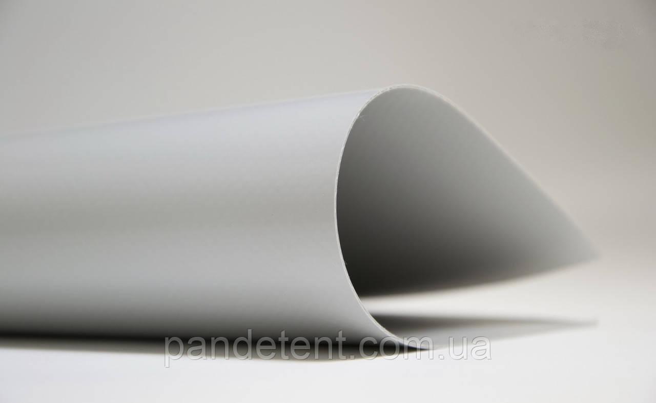 Ткань ПВХ для тента- серая 650 грам/м2 Sioen ( Бельгия)