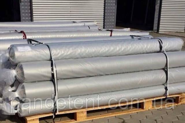 Ткань ПВХ для тента- серая 650 грам/м2 Sioen ( Бельгия), фото 2