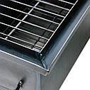 Коптильня горячего копчения 2мм 520х310х280мм с термометром + 2кг щепа (коптилка,каптилка), фото 3