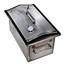 Коптильня горячего копчения 2мм 520х310х280мм с термометром + 2кг щепа (коптилка,каптилка), фото 5