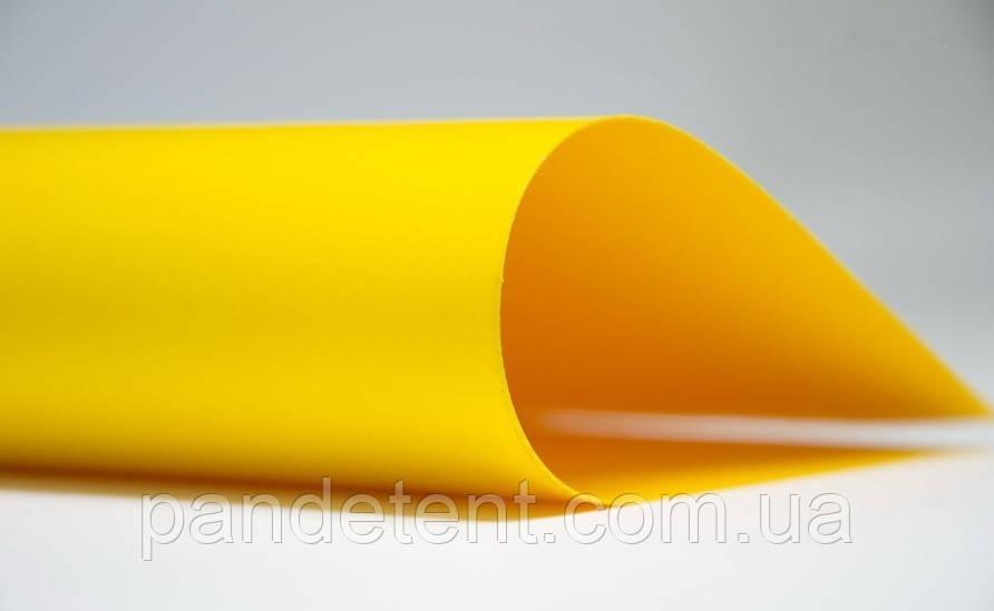 Тент, тентовые ПВХ покрытия, укрытия, тентовая ткань-жёлтая ПВХ 650 г/м² SIOEN (Бельгия)