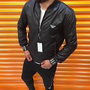 Мужская куртка бомбер Armani, Black
