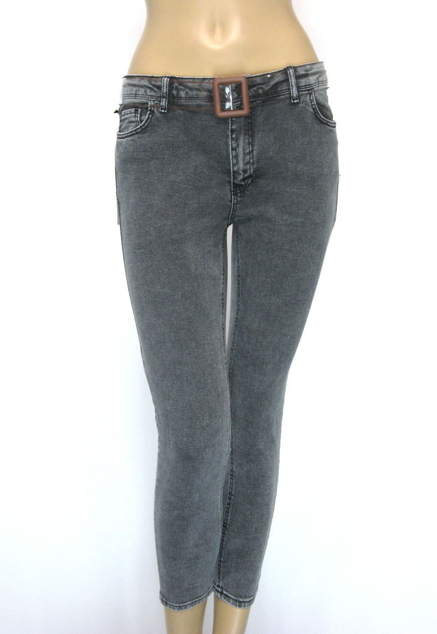 Жіночі джинси стрейч занижена талія Lexsina