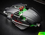 Мышь компьютерная геймерская Inphic PG6 оптическая USB проводная черная, фото 2
