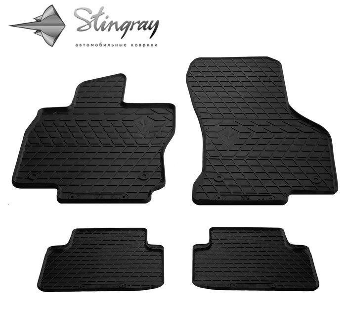 Резиновые коврики Шкода Супер В 3 Skoda Superb III (B8) 2015- Stingray