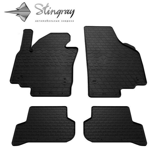 Резиновые коврики Шкода Ети Skoda Yeti 2009-2017 Stingray