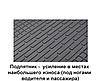 Резиновые коврики Шкода Ети Skoda Yeti 2009-2017 Stingray, фото 6