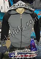 Худи с капюшоном на байке 9-12 лет (3-х нитка) Atabay(2563.2)