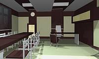 Дизайн інтер'єру кабінету директора СГЕМ, фото 1