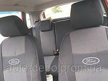 Чехлы на сиденья Форд Куга, Ford Kuga 2013- Nika