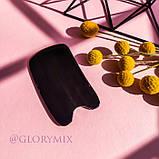 Массажер скребок ГуаШа черный, смола, фото 3