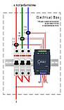Умный счетчик электроэнергии c WiFi D103-600, трехфазный 600А, фото 3