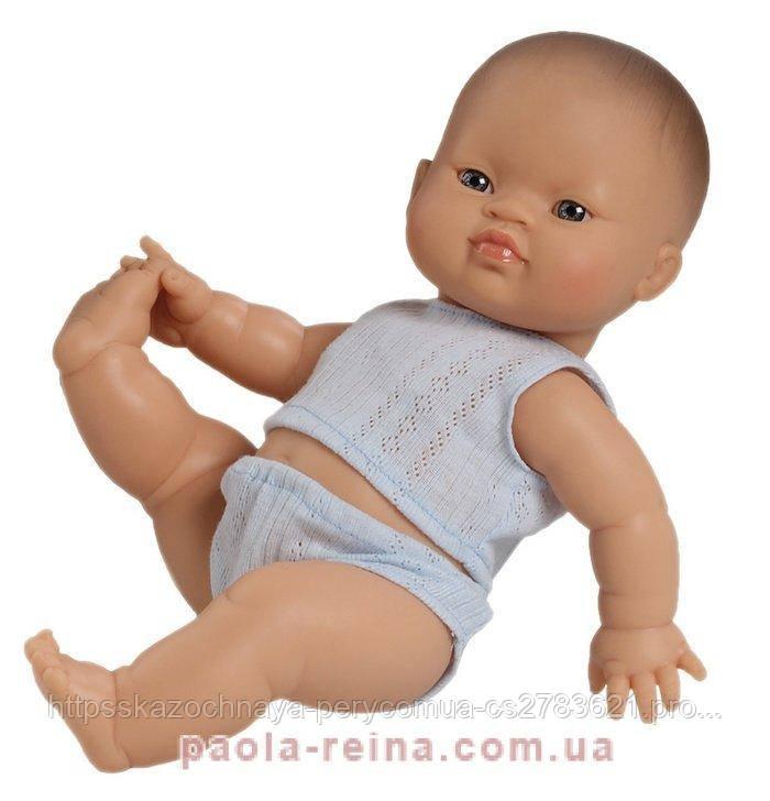 Кукла пупс Горди, азиат 04001, 34 см, в нижнем белье