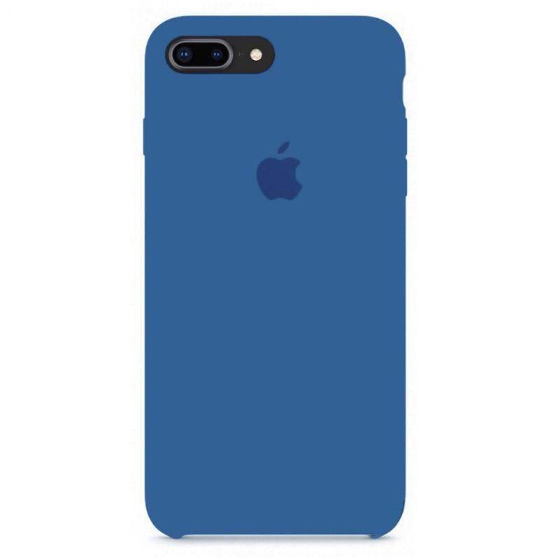 Силиконовый чехол для Apple iPhone 7 Plus / 8 Plus (denim blue)