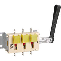 Рубильник (выключатель-разъединитель) ВР32И-35В31250 250А съем.рук. IEK