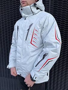 Мужская горнолыжная Куртка Snow Headquarter Белый
