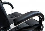 Офисное Кресло Руководителя Richman Телави Титан Black Хром М2 AnyFix Черное, фото 4