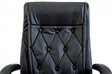 Офисное Кресло Руководителя Richman Телави Титан Black Хром М2 AnyFix Черное, фото 5