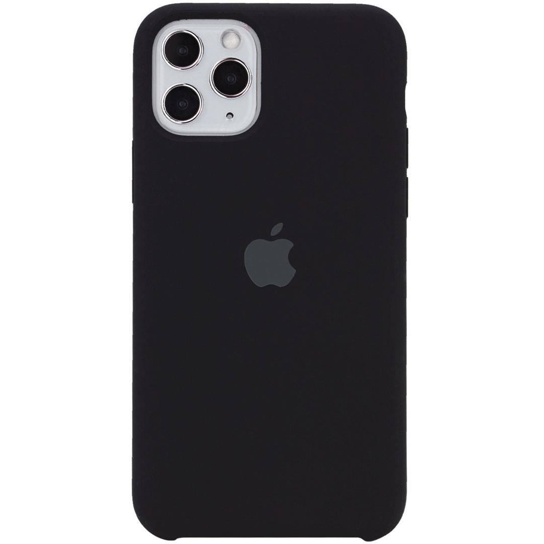 Силиконовый чехол для Apple iPhone 11 Pro (Black)
