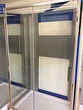 Душевая кабина Dusel А-515, 120х80х190, дверь раздвижная, стекло прозрачное, фото 5